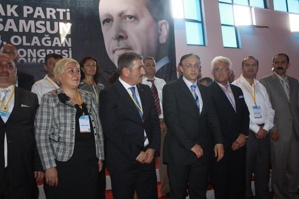 Ak Parti Samsun İl Kongresinin kazananı köktaş oldu galerisi resim 21