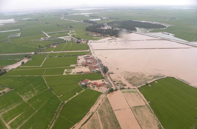 Samsundaki Sel Havadan Görüntülendi galerisi resim 3