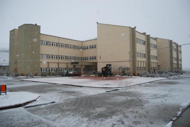 Havza'da Kar Yağışı Başladı galerisi resim 3