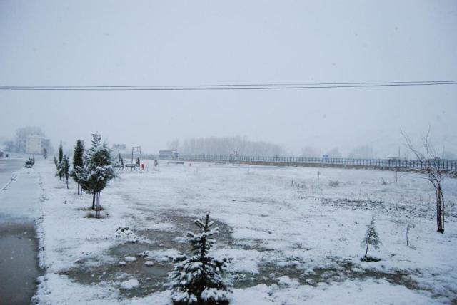 Havza'da Kar Yağışı Başladı galerisi resim 4