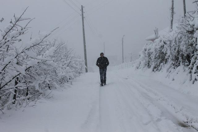 Samsundan Kar Manzarası galerisi resim 2