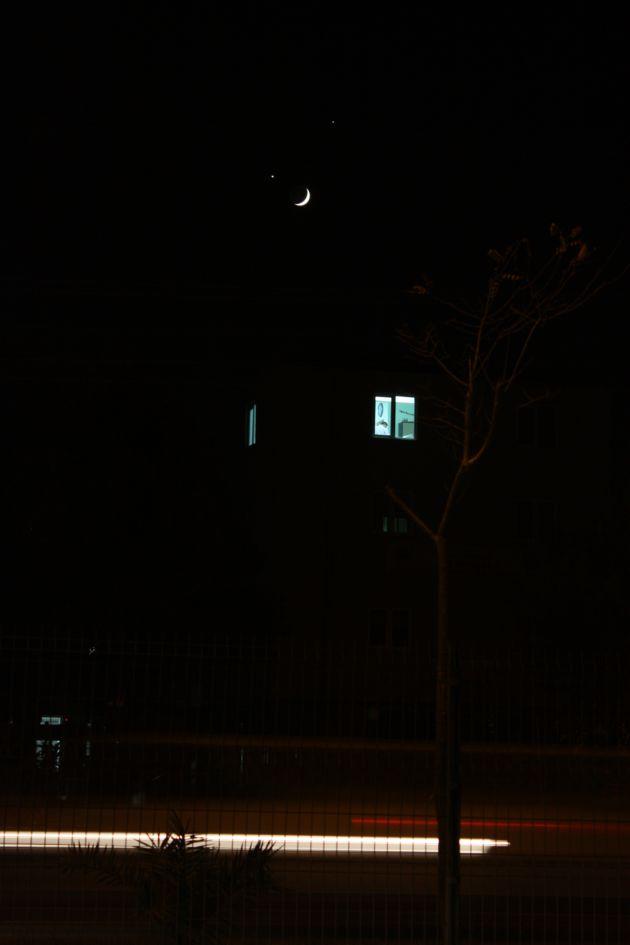 Ay ve yıldızın gökyüzündeki ahengi! galerisi resim 15