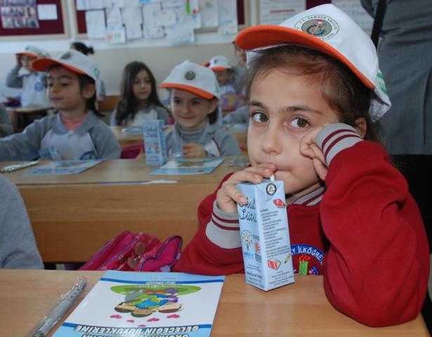 Okul Sütü Dağıtımı Başladı galerisi resim 1