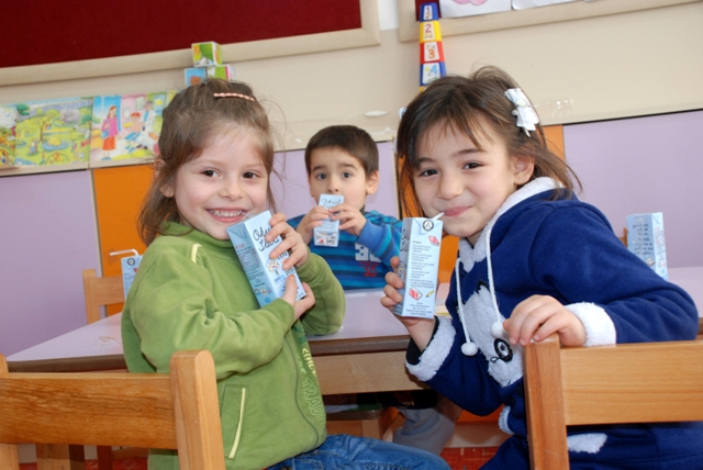 Okul Sütü Dağıtımı Başladı galerisi resim 6