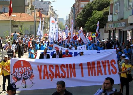 Samsun'da 1 Mayıs Kutlamaları galerisi resim 2