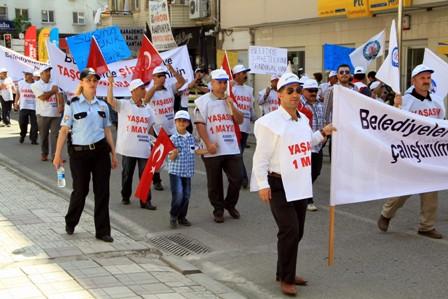 Samsun'da 1 Mayıs Kutlamaları galerisi resim 5