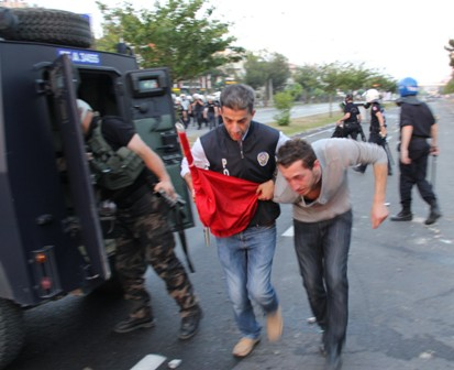 Samsunda Gezi Parkı Protestosu galerisi resim 14