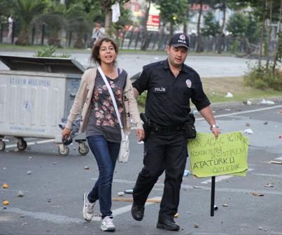 Samsunda Gezi Parkı Protestosu galerisi resim 15