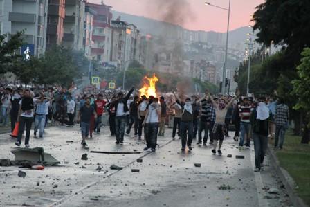Samsunda Gezi Parkı Protestosu galerisi resim 19