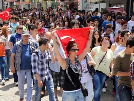 Samsunda Gezi Parkı Protestosu galerisi resim 2