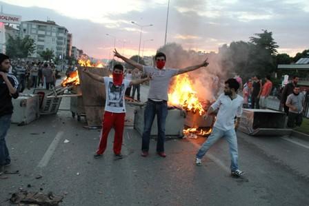 Samsunda Gezi Parkı Protestosu galerisi resim 20