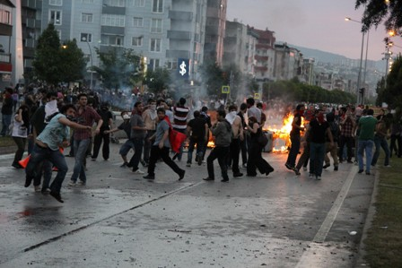 Samsunda Gezi Parkı Protestosu galerisi resim 21