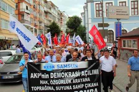 Samsunda Gezi Parkı Protestosu galerisi resim 25