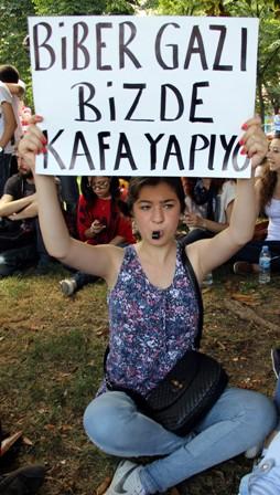 Samsunda Gezi Parkı Protestosu galerisi resim 3