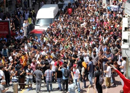 Samsunda Gezi Parkı Protestosu galerisi resim 4