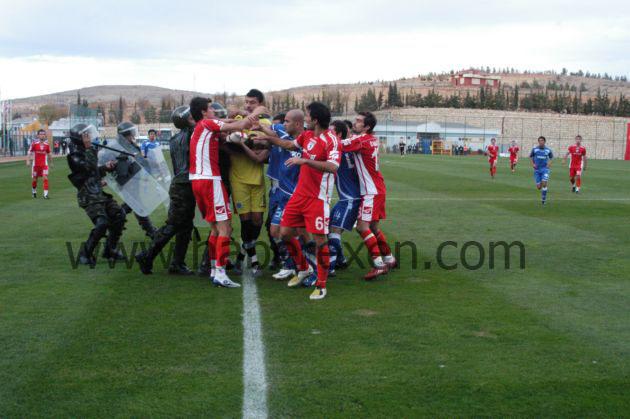 Gaziantep maçında kavga çıktı! galerisi resim 3