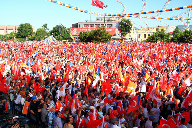 AK Parti Samsun Mitingi galerisi resim 1