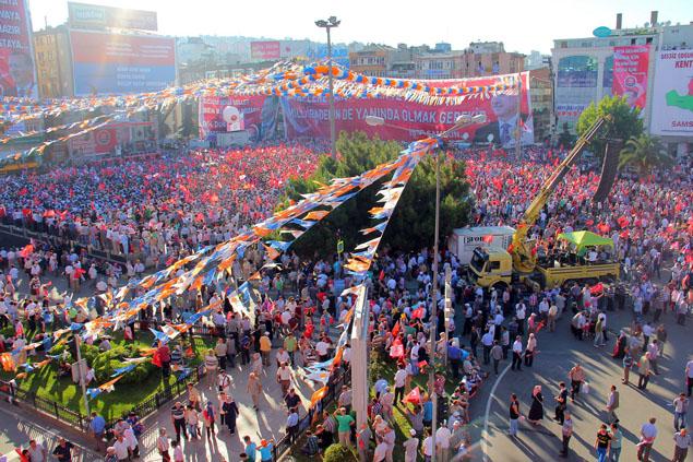 AK Parti Samsun Mitingi galerisi resim 13