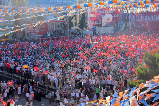 AK Parti Samsun Mitingi galerisi resim 14