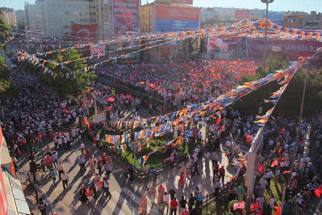 AK Parti Samsun Mitingi galerisi resim 16
