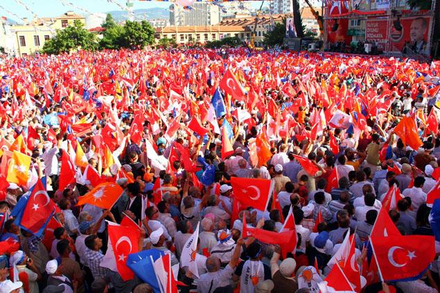 AK Parti Samsun Mitingi galerisi resim 5