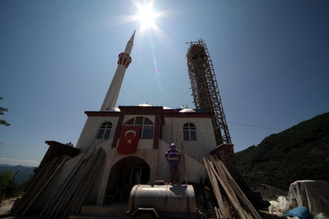 Minare Ustaları Yüksekliğe Meydan Okuyor galerisi resim 2