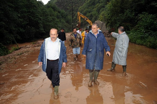 Trabzonda sel felaketi galerisi resim 13