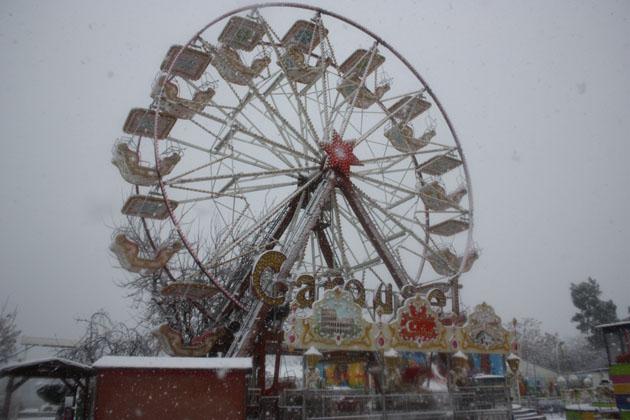 Samsundan kar manzaraları! galerisi resim 19