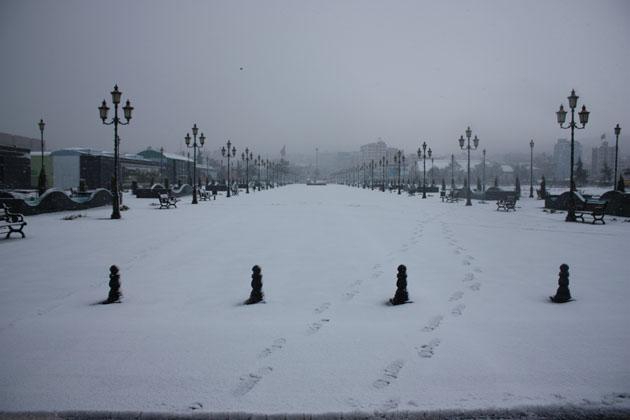 Samsundan kar manzaraları! galerisi resim 2