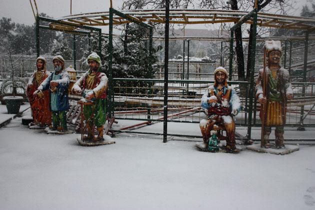 Samsundan kar manzaraları! galerisi resim 20
