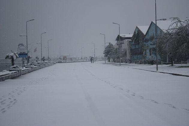 Samsundan kar manzaraları! galerisi resim 22