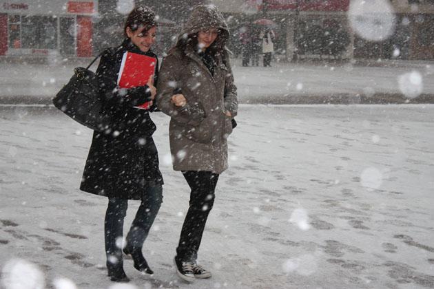 Samsundan kar manzaraları! galerisi resim 8