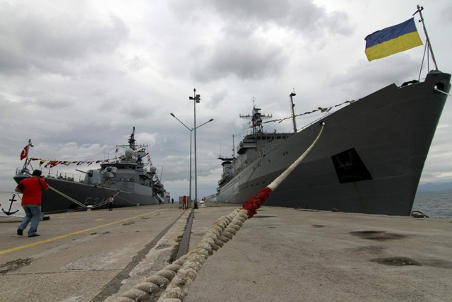 BLACKSEAFOR üyesi savaş gemileri galerisi resim 8