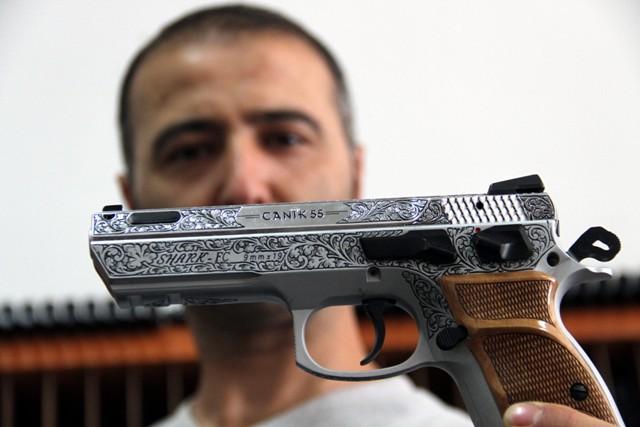 Türk polisinin yeni silahı Samsundan galerisi resim 5