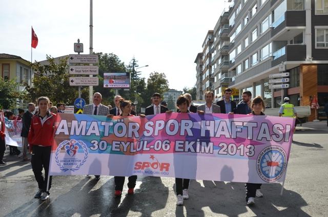 Amatör Spor Haftası Yürüyüşü Düzenlendi galerisi resim 6