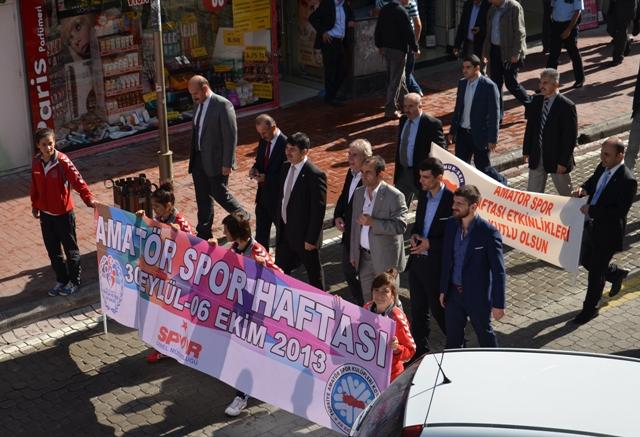 Amatör Spor Haftası Yürüyüşü Düzenlendi galerisi resim 9