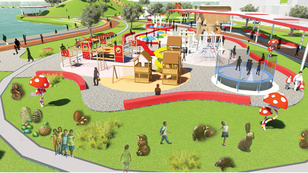 Türkiyenin en tatlı parkı olacak galerisi resim 9