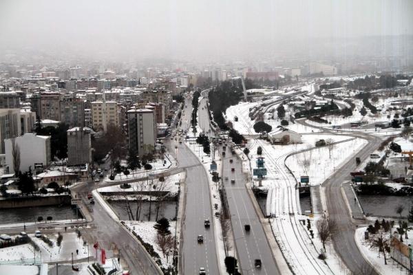 Samsun'dan Kar Manzaraları galerisi resim 10