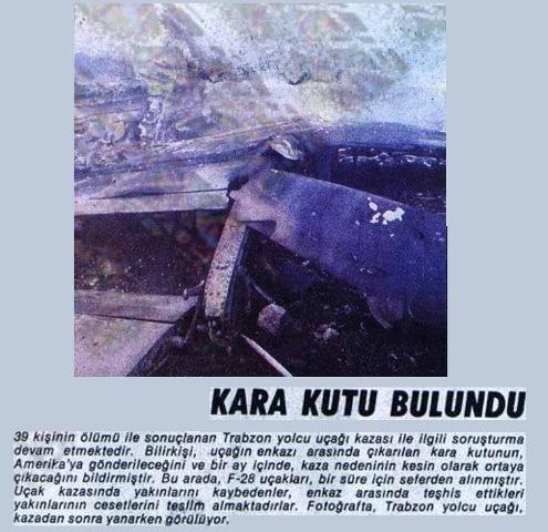 Samsun - Ankara seferi yapan Trabzon adlı uçak düştü ! galerisi resim 10