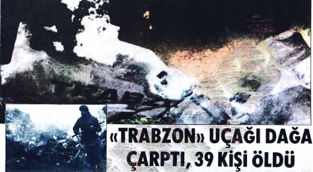 Samsun - Ankara seferi yapan Trabzon adlı uçak düştü ! galerisi resim 2