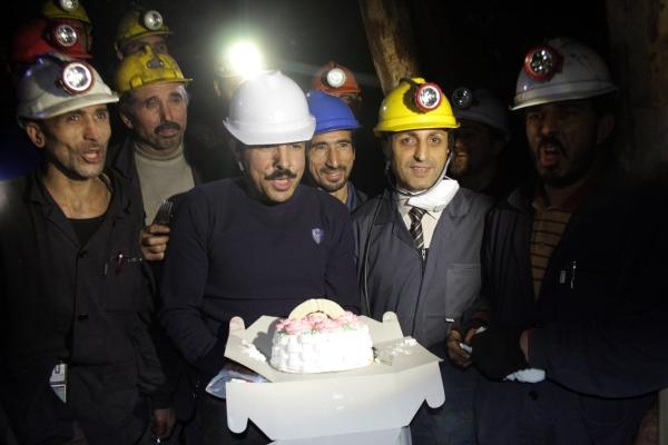 Yeni yıla maden ocağında çalışarak girdiler galerisi resim 13