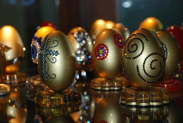 Kaz yumurtaları sanat eserine dönüşüyor galerisi resim 1