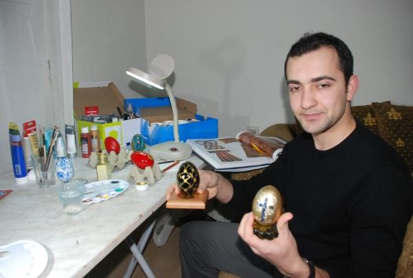 Kaz yumurtaları sanat eserine dönüşüyor galerisi resim 2
