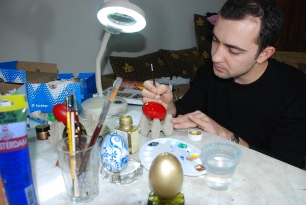 Kaz yumurtaları sanat eserine dönüşüyor galerisi resim 3
