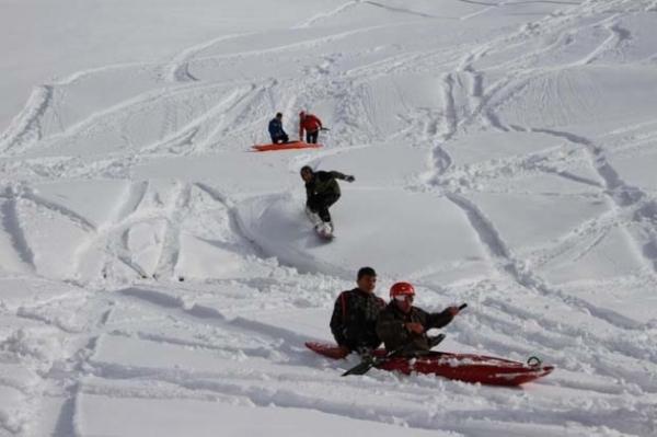 Petranboard kayak keyfi Rizeyi sardı galerisi resim 11