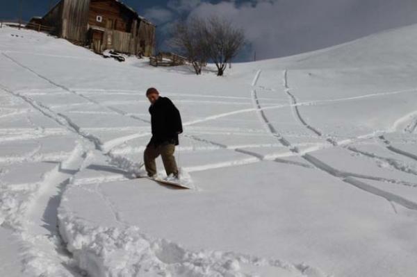 Petranboard kayak keyfi Rizeyi sardı galerisi resim 6
