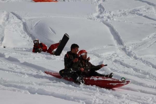 Petranboard kayak keyfi Rizeyi sardı galerisi resim 9