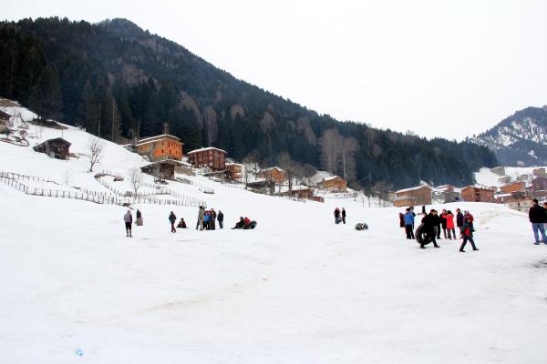 Kaçkarlar kışın turistlerin gözdesi galerisi resim 3