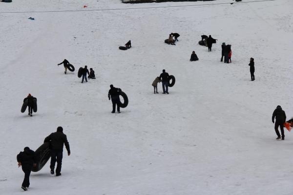 Kaçkarlar kışın turistlerin gözdesi galerisi resim 6