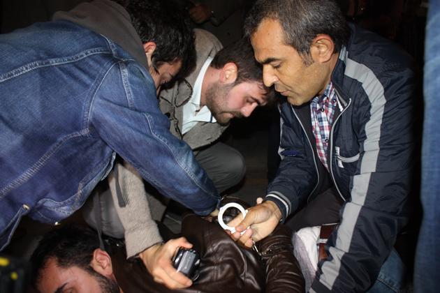 Samsunda Fotoğraflarla Kobani Gerginliği galerisi resim 19